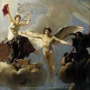 Departure Chandelier - The Black Crest of Death, the Gold Wreath of War